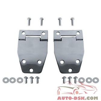 Rugged Ridge Hard Top Liftgate Hinge Pair, Stainless, 76-86 Cj - part #11115.01