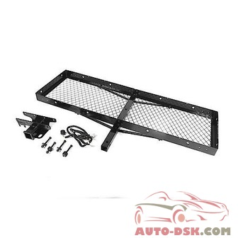 Rugged Ridge Trailer Hitch Cargo Carrier - part #11580.21