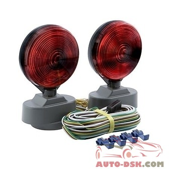 Optronics Magnet Mount Towing Light Kit - part #TL-22RK/TL-21RK