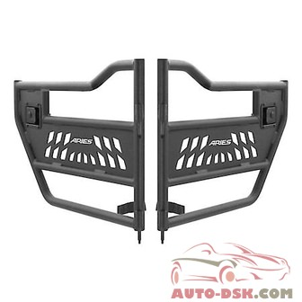 Aries Off Road Rear Jeep Tube Doors - part #25009