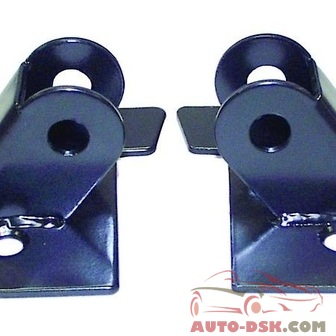 RT Offroad Mirror Relocation Bracket Set, Left & Right, Black - part #RT30013