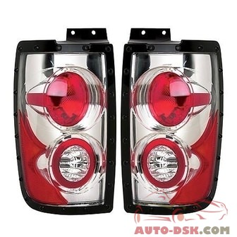 APC Chrome Euro Tail Lamps - part #404534TLR