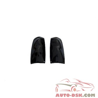 Auto Ventshade (AVS) Tail Shades Taillight Covers; Smoke; Blackout - part #33758