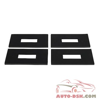 Curt 5th Wheel Rail Sound Dampening Pads - part #16900