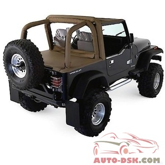 Rampage Roll Bar Pad And Cover Kit, Black Denim, Full Kit - part #768915